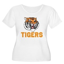 TIGERS Plus Size T-Shirt