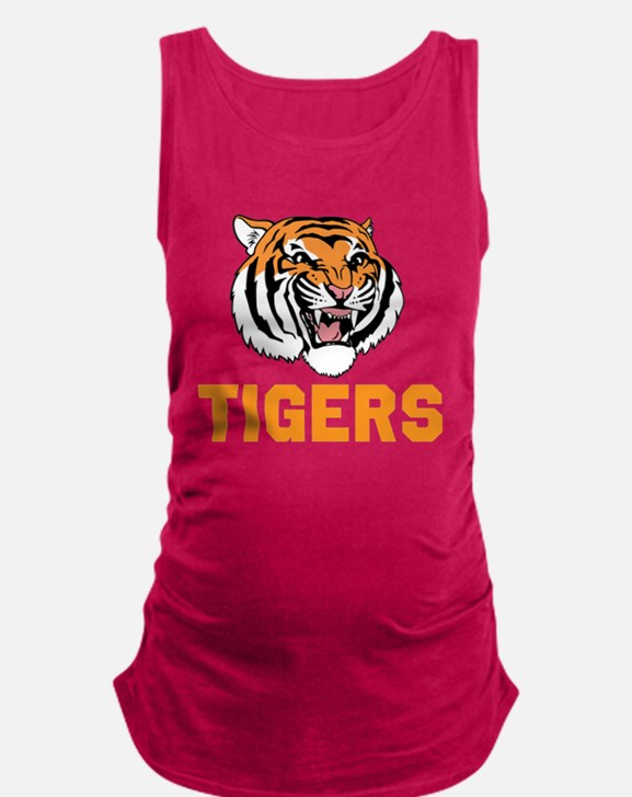 TIGERS Maternity Tank Top
