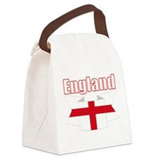 English Flag Ribbon - St George Cross Canvas Lunch