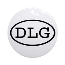 DLG Oval Ornament (Round)