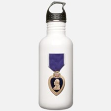 Purple Heart Water Bottle