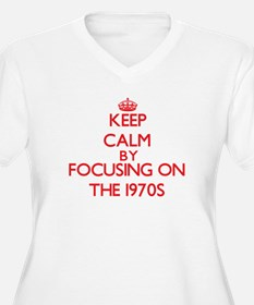 Keep Calm by focusing on The 197 Plus Size T-Shirt