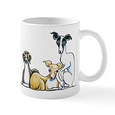 Italian Greyhound Trio Mugs
