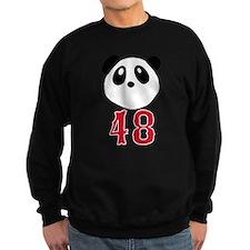 48 Kung Fu Panda Red Sox Sweatshirt