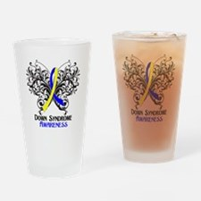 Down Syndrome Awareness Drinking Glass