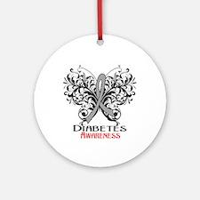 Diabetes Awareness Ornament (Round)