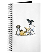 Italian Greyhound Trio Journal