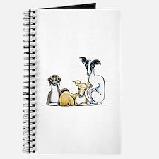 Italian Greyhound Trio Journal