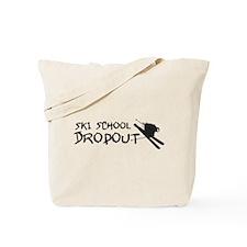 Ski School Dropout Tote Bag