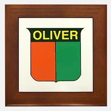 oliver 2.gif Framed Tile