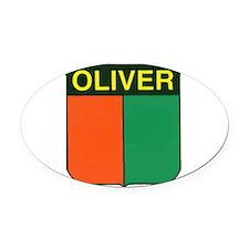 oliver 2.gif Oval Car Magnet