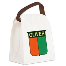 oliver 2.gif Canvas Lunch Bag