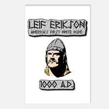 Leif Erikson: America's First White Dude Postcards