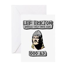 Leif Erikson: America's First White Dude Greeting