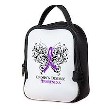 Crohns Disease Awareness Neoprene Lunch Bag