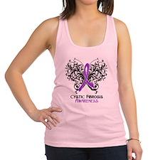 Cystic Fibrosis Awareness Racerback Tank Top