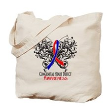 Congenital Heart Defect Awareness Tote Bag