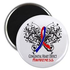 "Congenital Heart Defect Aw 2.25"" Magnet (10 pack)"