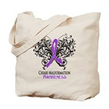 Chiari malformation Canvas Bags