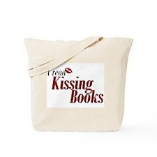 Read Kissing Books Tote Bag