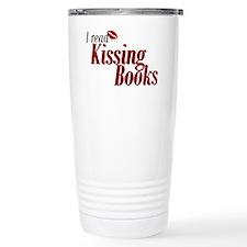 Read Kissing Books Travel Mug