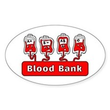 Blood Bank Decal