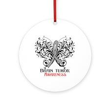 Brain Tumor Awareness Ornament (Round)