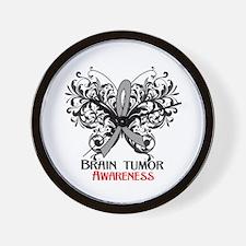 Brain Tumor Awareness Wall Clock