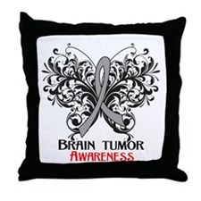 Brain Tumor Awareness Throw Pillow
