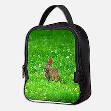 bunny-clover_j.jpg Neoprene Lunch Bag