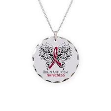 Brain Aneurysm Awareness Necklace