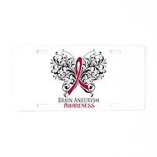 Brain Aneurysm Awareness Aluminum License Plate