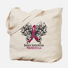 Brain Aneurysm Awareness Tote Bag