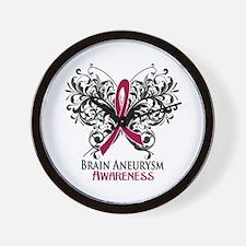 Brain Aneurysm Awareness Wall Clock
