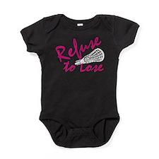 lacrosse57dark.png Baby Bodysuit