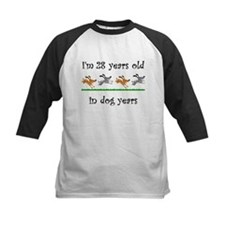 4 dog birthday 1 Baseball Jersey