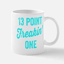 Thirteen Point Freakin One. 13.1. Half-Marathon. M