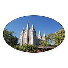 Salt Lake Temple, Plaza View Decal