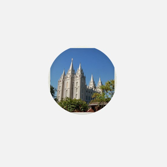 Salt Lake Temple, Plaza View Mini Button