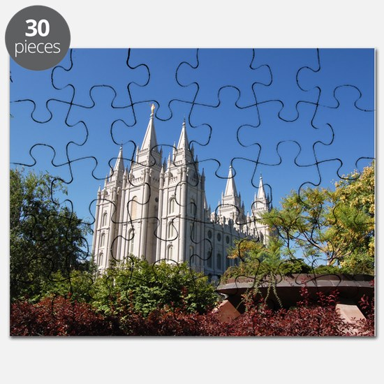 Salt Lake Temple, Plaza View Puzzle