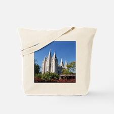 Salt Lake Temple, Plaza View Tote Bag
