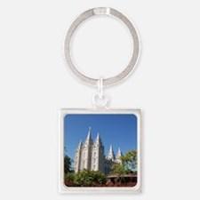 Salt Lake Temple, Plaza View Keychains