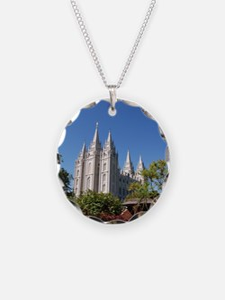 Salt Lake Temple, Plaza View Necklace