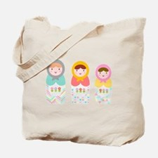 Babushka Dolls Tote Bag
