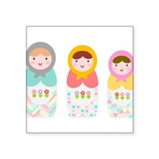 Babushka Dolls Sticker