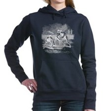 lacross18white.png Women's Hooded Sweatshirt