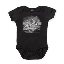 lacross18white.png Baby Bodysuit