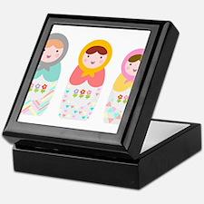 Babushka Dolls Keepsake Box