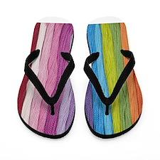 Thread Colors Flip Flops
