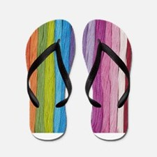 Thread Colors Flip Flops